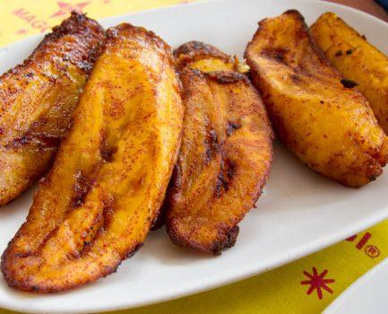 Zambian Fried Plantains