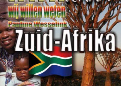 Kinderreisgids Wij Willen Weten Zuid Afrika | Ellessey
