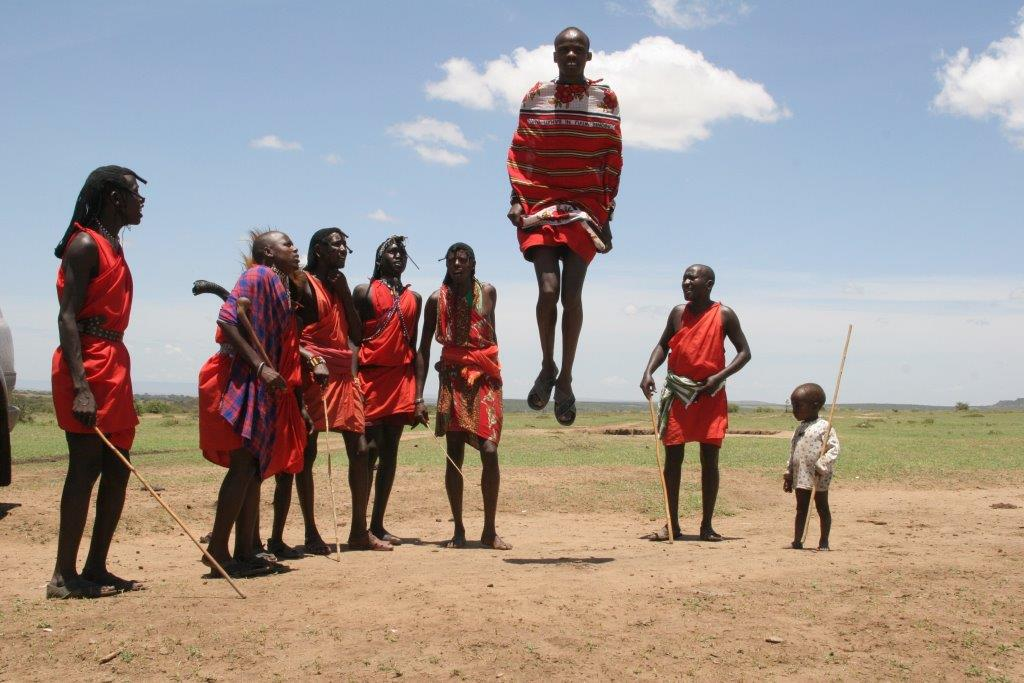 Masaai krijgers by Randy Fath