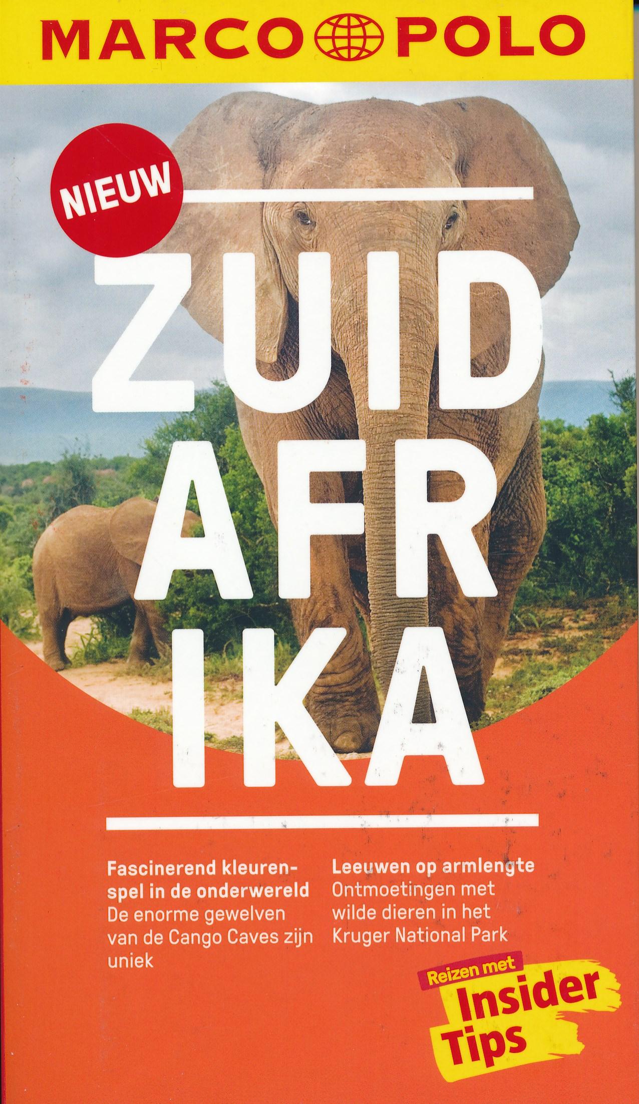 Reisgids Marco Polo NL Zuid Afrika | 62Damrak