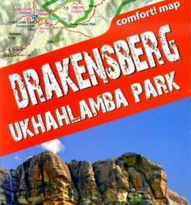 Wandelkaart Trekking map Drakensbergen – Zuid Afrika | TerraQuest
