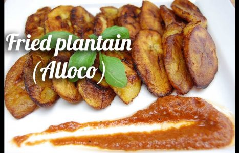 Alloco (Gebakken Bananen)