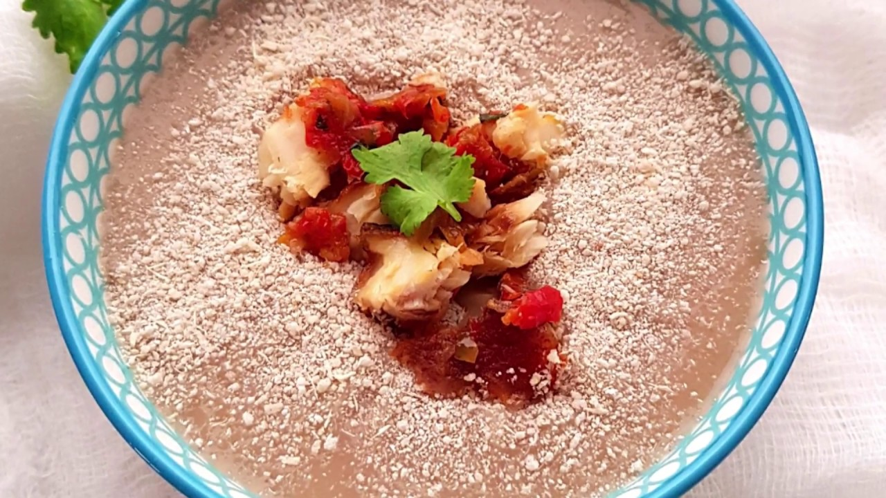 Frejon (zwarte-ogen bonen met kokos)
