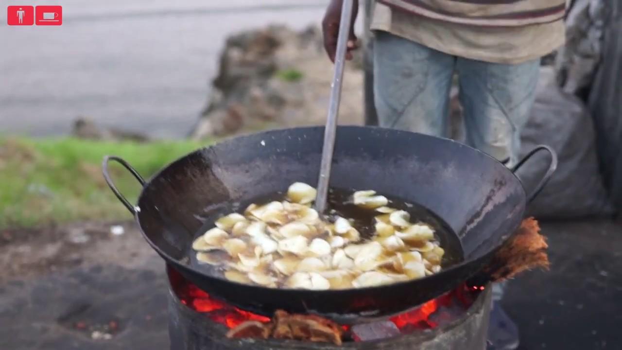 Kachiri crisps (Cassava chips)