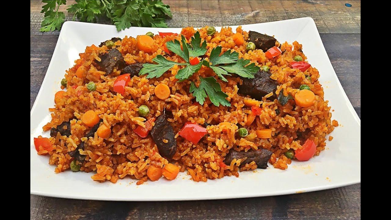 Lamb Jollof Rice | Jollofrijst met lamvlees