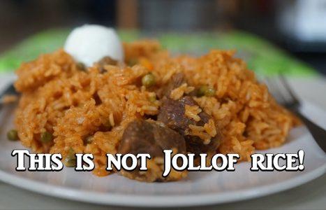 Lookdam rijst (eigen creatie)