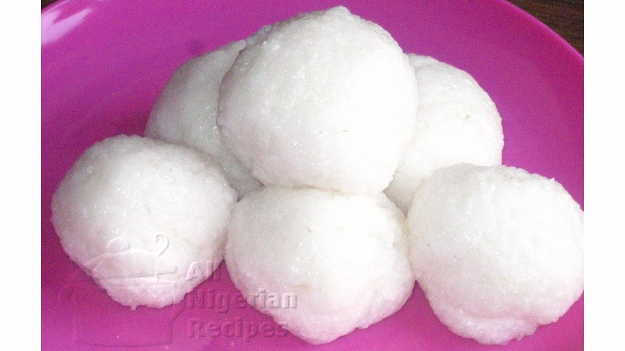 Rice Tuwo (Stevige rijstpudding)