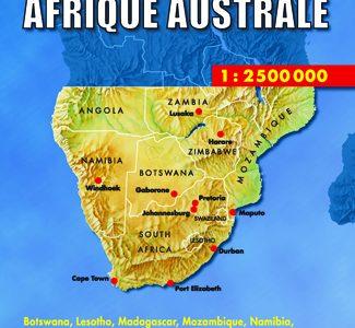 Wegenkaart – landkaart Southern Africa – Zuidelijk Afrika | Hildebrand's