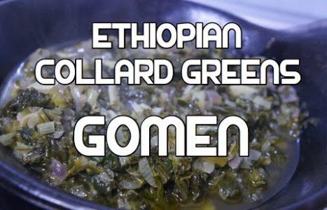 Ye'abesha Gomen | Ethiopische koolsla