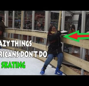 Crazy Things Africans Don't Do – Ice Skating