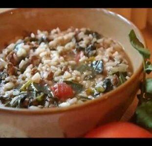 Vary Amin Anana (Rice And Vegetables)