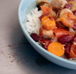Feijoada Moçambicana (Mozambican Bean Stew)