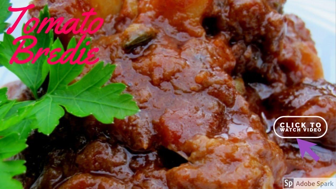 Tamatie Bredie (Schapenvlees Met Tomaten)