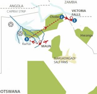 Betaalbaar Botswana (10 dagen)