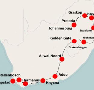 Wonderfull South Africa (22 dagen)