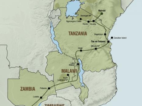 Oost-Afrika avontuur (25 dagen) – Zuidwaarts