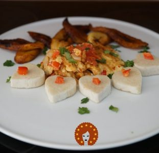 Fried Egg, Yam and Fried Plantain | Nigerian breakfast recipe