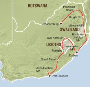 Impressie Zuid-Afrika (18 dagen)