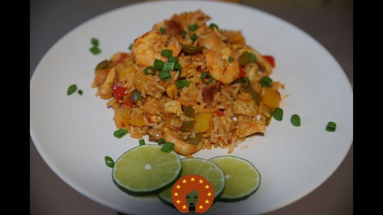 Jambalaya | Creoolse Rijstschotel
