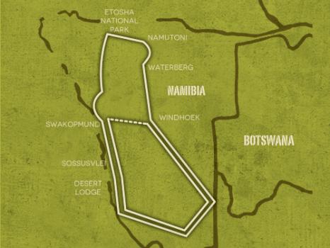 Op avontuur door Namibië (20 dagen)