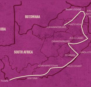 Op avontuur door Zuid-Afrika (21 dagen)