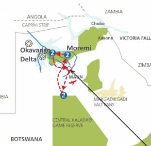 Ker & Downey Botswana (9 dagen)