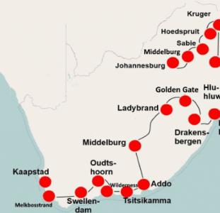 Zuid-Afrika per camper (25 dagen) – Zuidwaarts