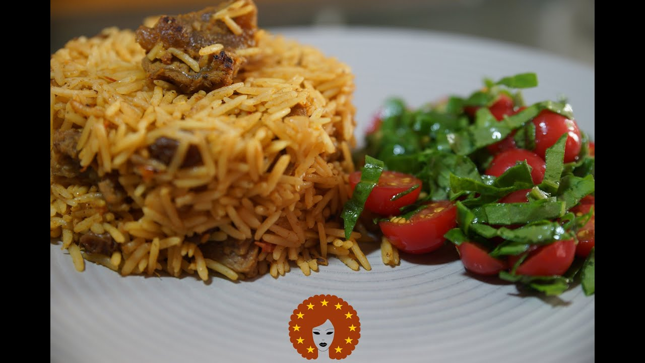 Pilau Met Rundvlees   Keniaanse Rijst Recept