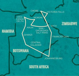 Op avontuur door Botswana (20 dagen)