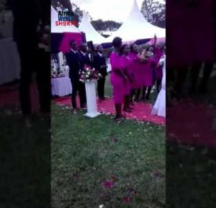 A Unexpected African Wedding Proposal | Watch The Crowd Go Wild! | #Shorts