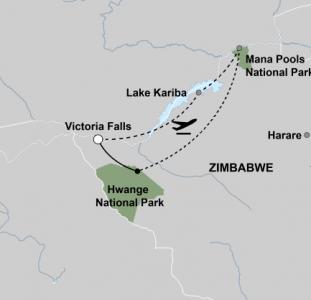 De hoogtepunten van Zimbabwe (11 dagen)