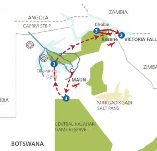 In de ban van Botswana (14 dagen)