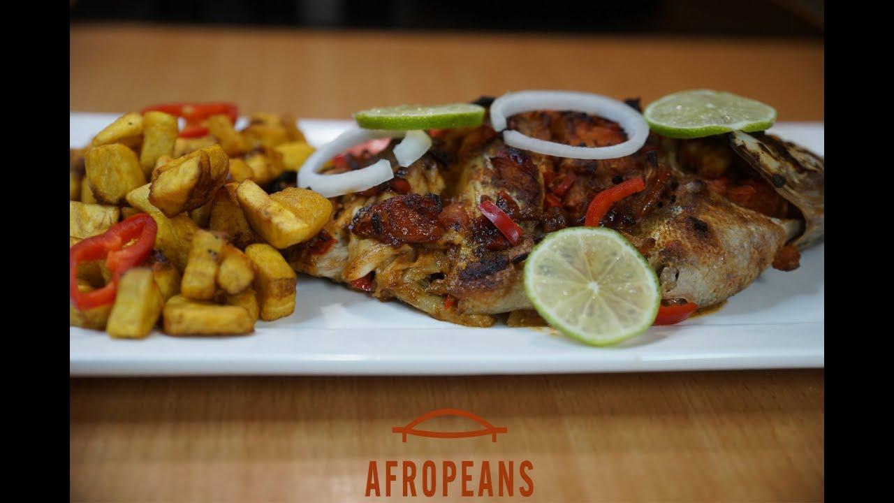 Alloco Met Gegrilde Tilapia | Bakbanaanrecept uit Ivoorkust