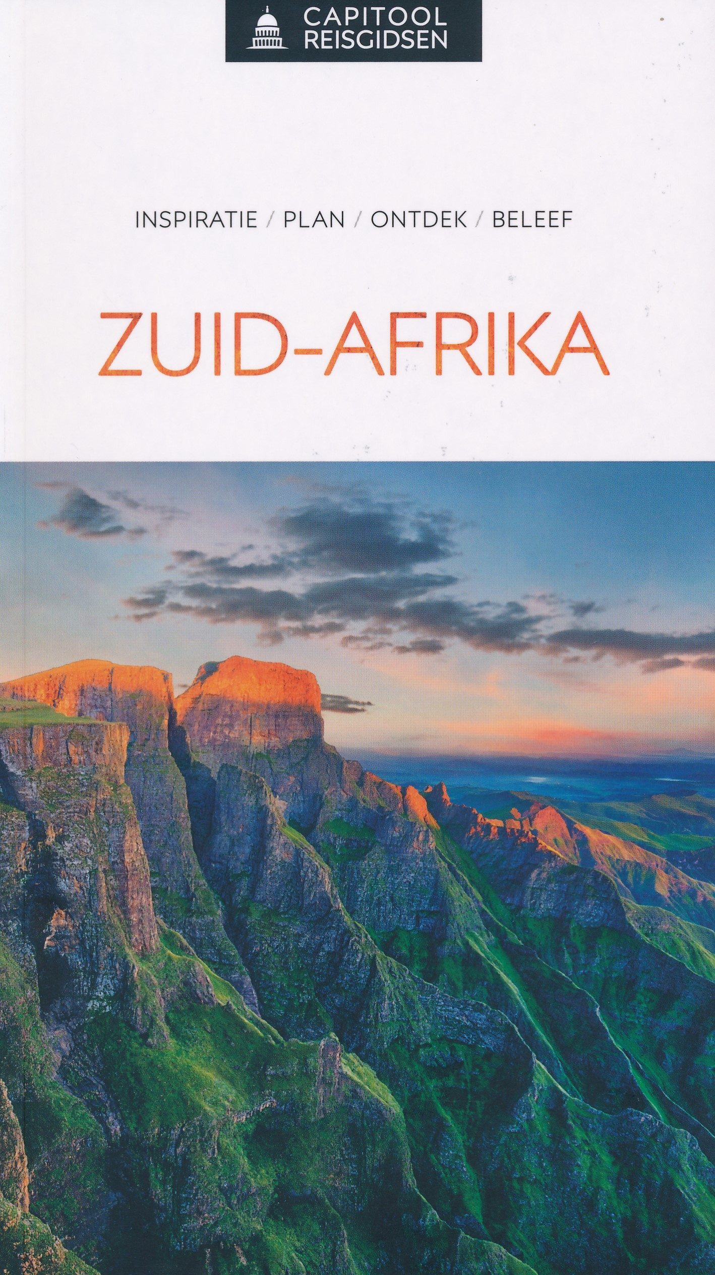 Reisgids Capitool Reisgidsen Zuid Afrika | Unieboek