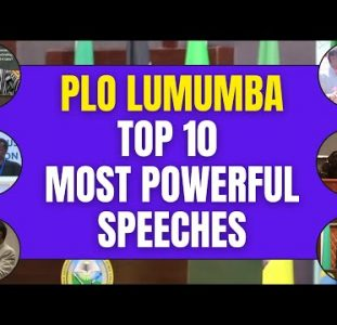 PLO Lumumba | Top 10 Most Powerful Speeches And Statements | African Influencers