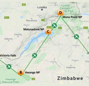 De hoogtepunten van Zimbabwe (13 dagen)