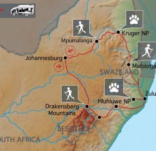 Wandelreis Zuid-Afrika (17 dagen)