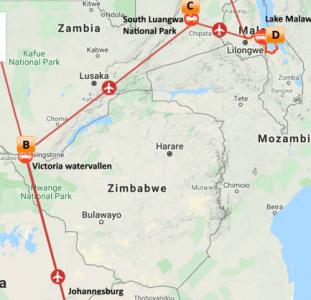 Impressie Zambia & Malawi (13 dagen)